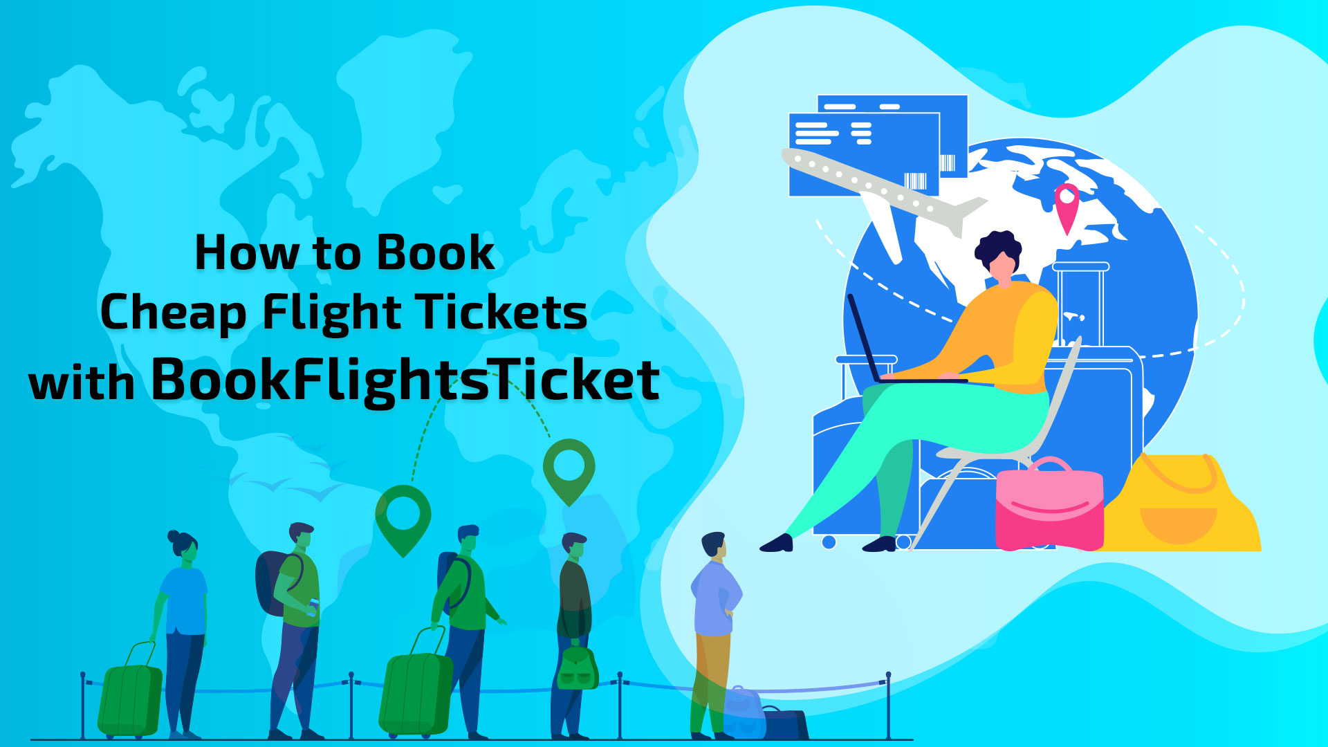 How to Book Cheap Flight Tickets with BookFlightsTicket